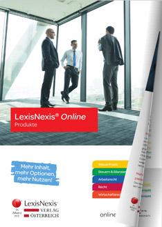 LexisNexis® Online für Steuerberater & Wirtschaftstreuhänder