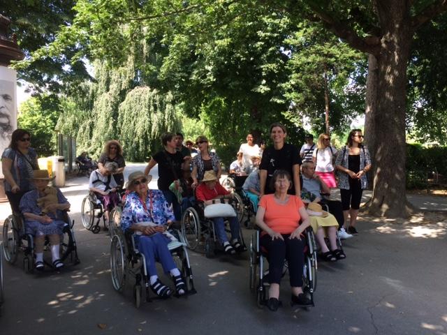Ausflug mit BewohnerInnen des Seniorenheims Haus Schönbrunn