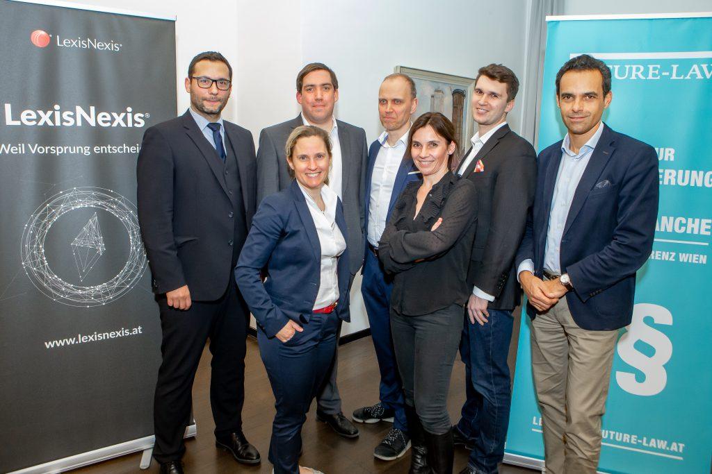 LexisNexis & FutureLaw luden zum Legal Tech Update ins Looshaus!