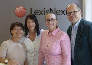 Das LexisNexis-Serviceteam