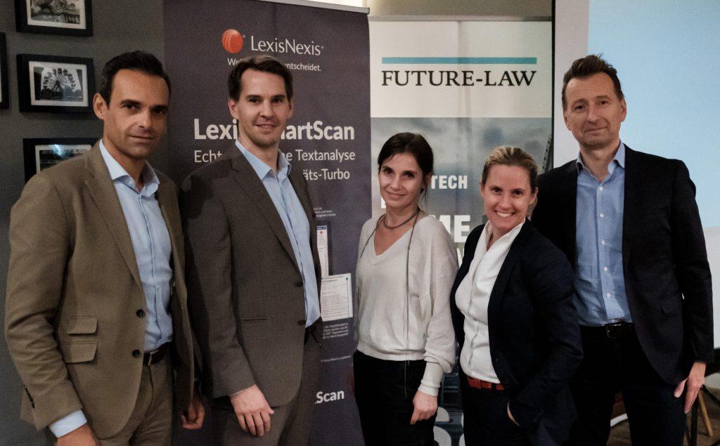 Impressionen vom LexisNexis Innovationspunsch