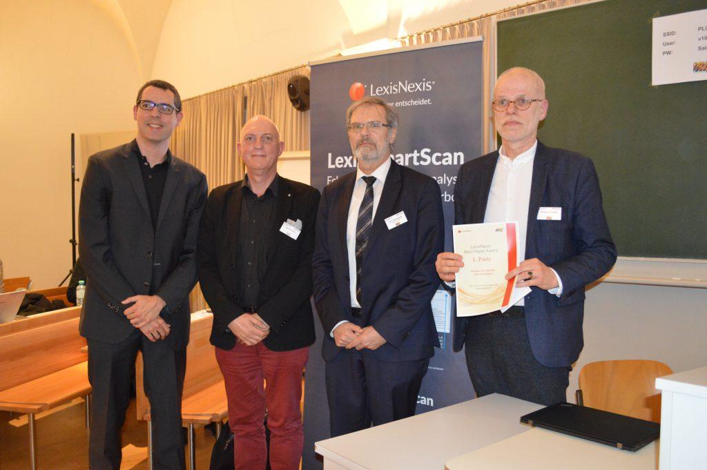 Rückblick: LexisNexis Best Paper Award @ IRIS 2019