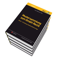 Mustersammlung zum GmbH-Recht