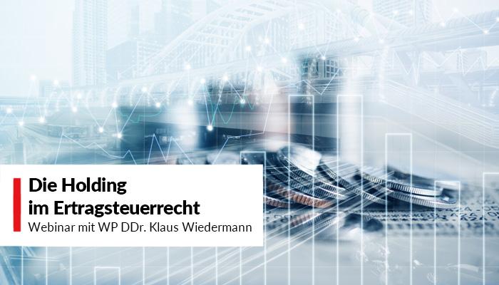 Webinar Die Holding im Ertragsteuerrecht