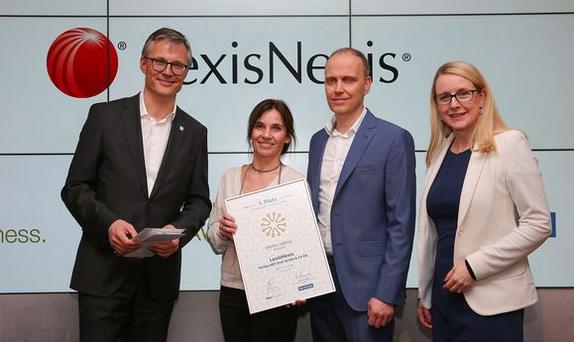 1. Platz für Lexis SmartScan beim Digital Impuls Award