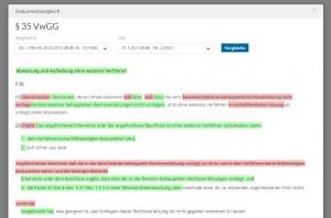 SmartSearch Versionen vergleichen