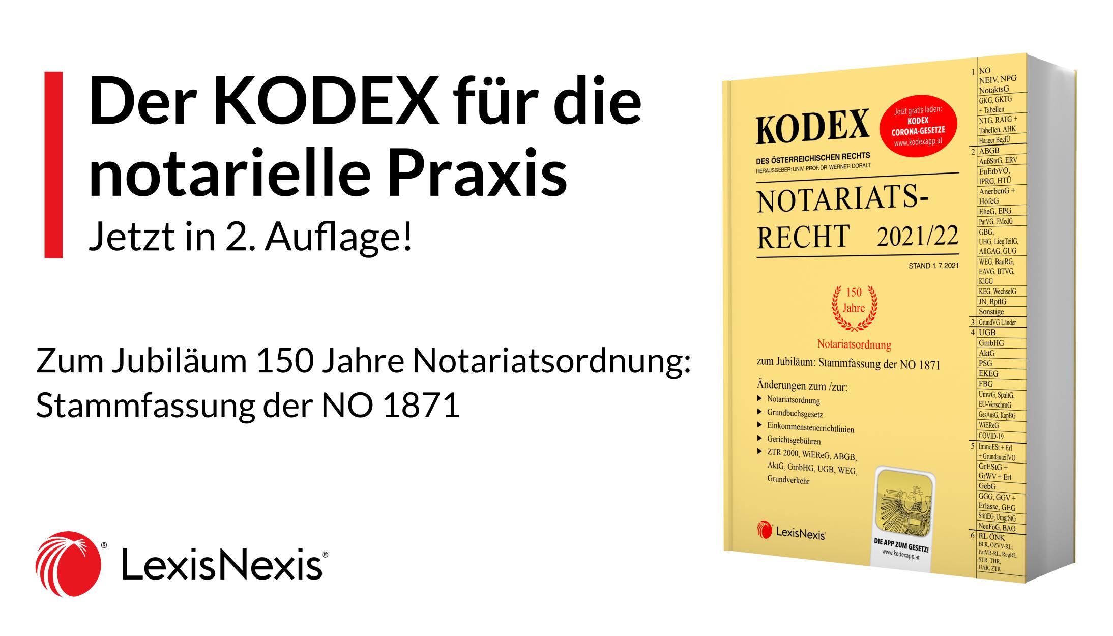 KODEX Notariatsrecht