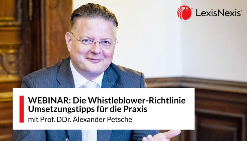 Webinar: Die Whistleblower-Richtlinie